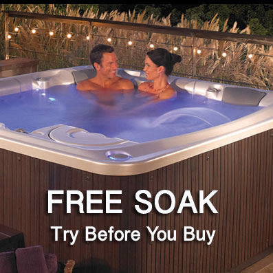 Paradise Pool and Spa Free Hot Tub Soak