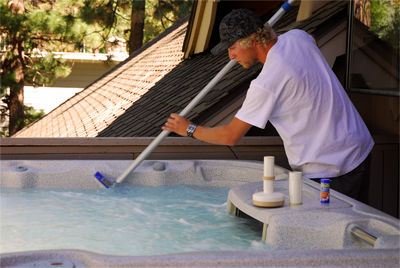 Paradise Pool and Spa Pool Care Cleaning