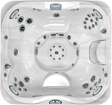 Paradise Pool and Spa Hot Tub J365 Collection
